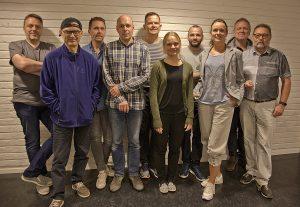 Kåre Skare Lystad, Peter Demirov, Ronald Øvrelid, Tormod Engen, Leiv Arne Nydal, Arnhild Bjerkvik, Miki Campins, Gunn Marthe Pieroth, Jan Thormodsæter og Odd Goksøyr.